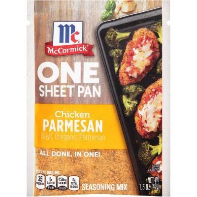 McCormick ONE Chicken Parmesan Sheetpan Seasoning Mix - 1.5oz