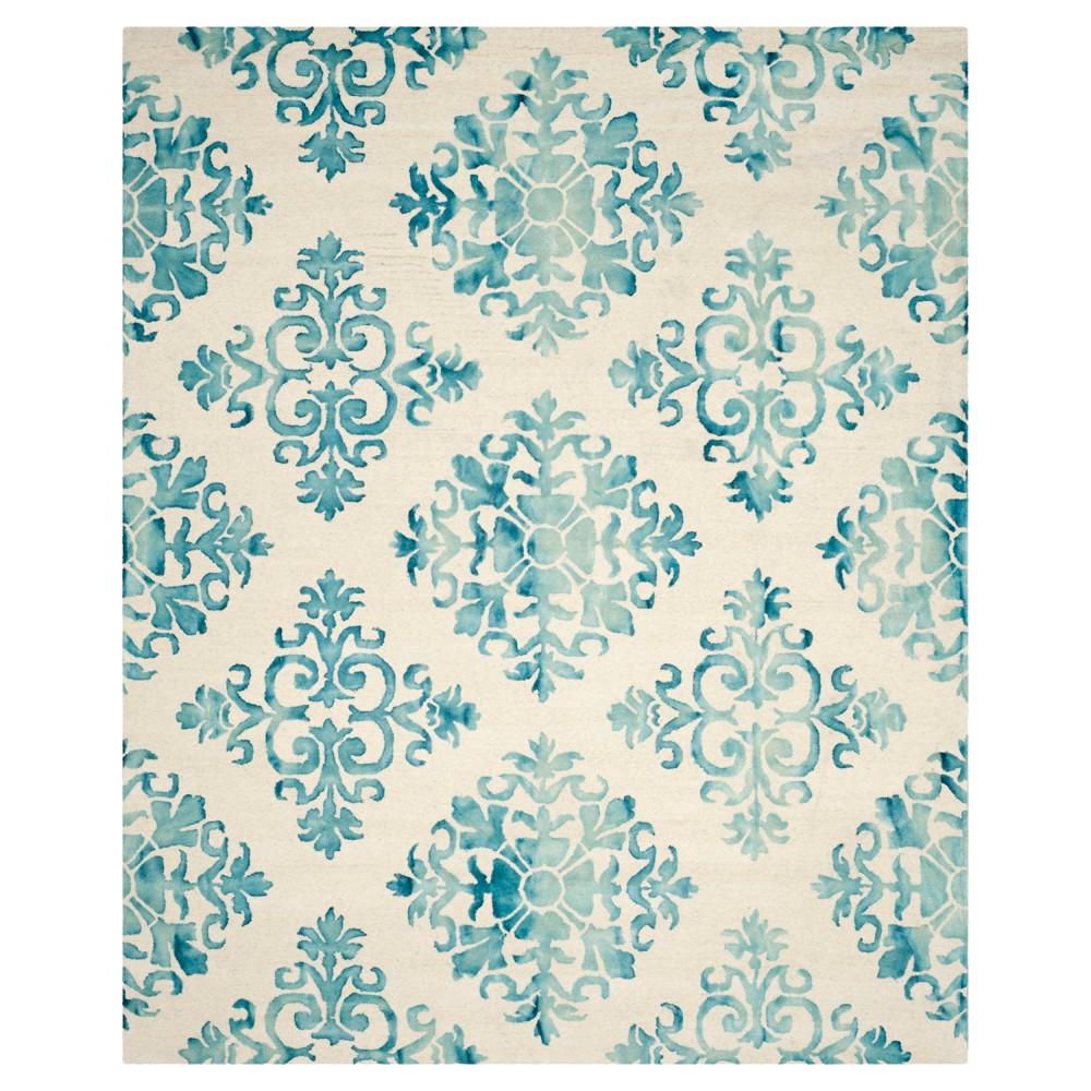 Garrett Area Rug - Ivory/Light Blue (6'x9') - Safavieh, White Blue