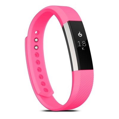 Zodaca Fitbit Alta / Alta HR band - TPU Rubber for fitbit Alta / Alta HR Replacement Wrist bands Sports Watch Wrist Band Strap w/ Clasp - Hot Pink