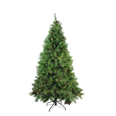 Northlight 7.5' Prelit Artificial Christmas Tree Dakota Pine Full - Clear Lights