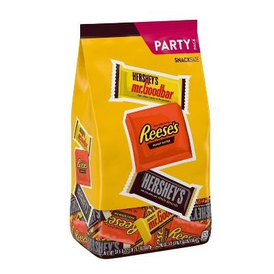 Hershey's Snack Size Nut Lovers Assortment - 31.5oz