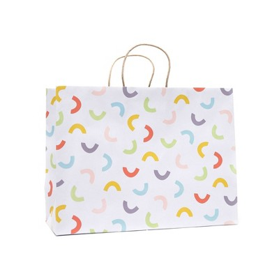 Large Recycled Paper Confetti Gift Bag - Spritz™
