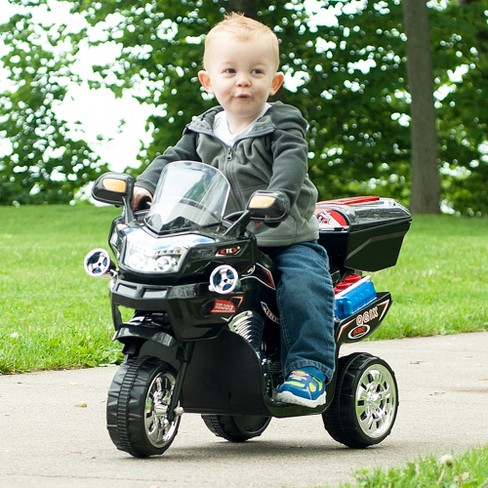 Lil' Rider 3 Wheel Battery Powered FX Sport Bike - Black - image 1 of 2
