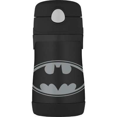 Thermos 10oz Insulated Batman Bottle - Black