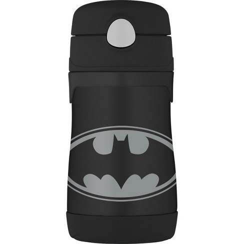 Thermos 10oz Insulated Batman Bottle - Black - image 1 of 2