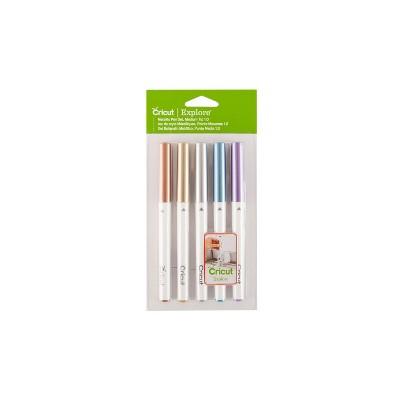 Cricut 5pc Metallic Medium Point Pen Set