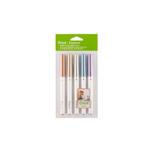 Cricut 5pc Metallic Medium Point Pen Set - image 1 of 1
