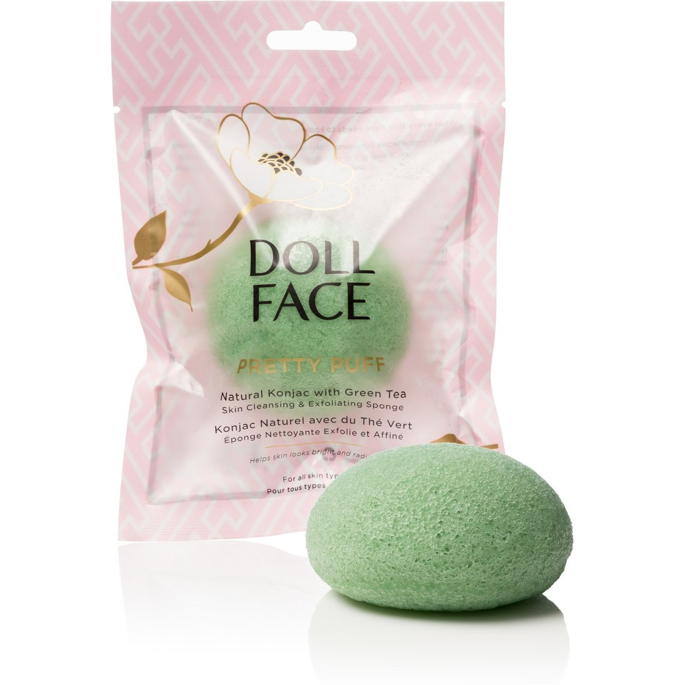 Image of Doll Face Konjac Sponges Green Tea - 1ct