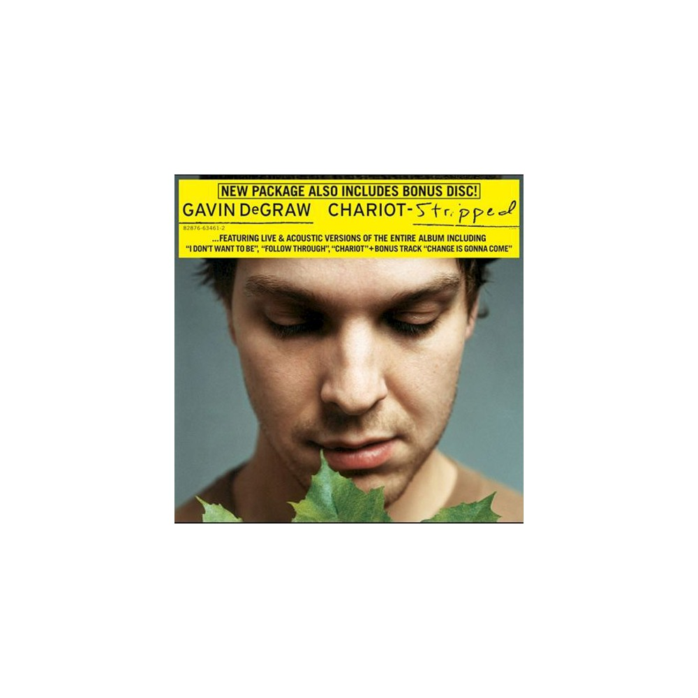 Gavin DeGraw - Chariot (Chariot + Chariot Stripped) (CD)