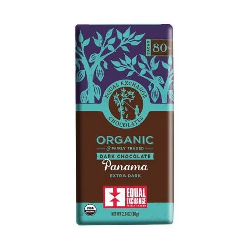 Equal Exchange Organic Fairly Traded Panama Dark Chocolate Bar - 2.8oz - image 1 of 3