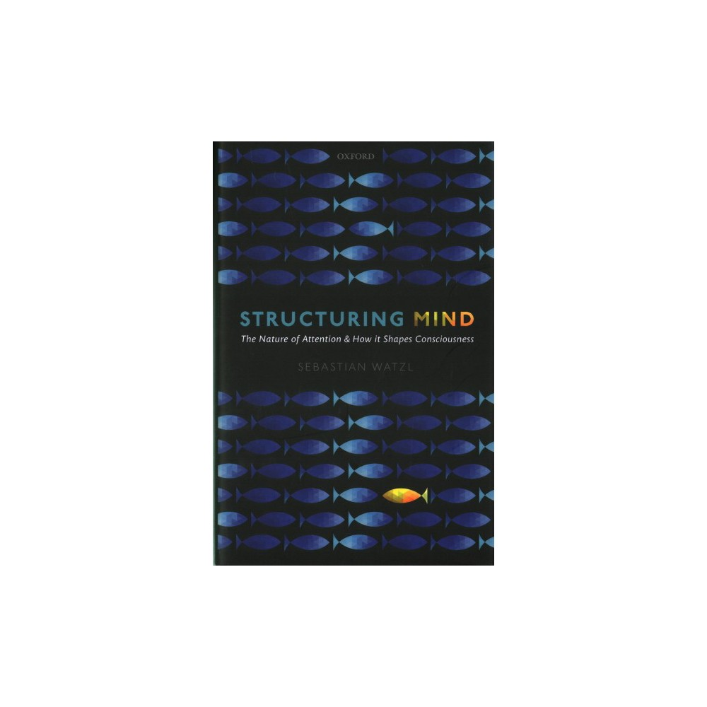Structuring Mind : The Nature of Attention and How it Shapes Consciousness - (Hardcover)