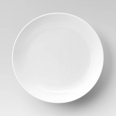 "Porcelain Dinner Plate 11"" White - Threshold™"