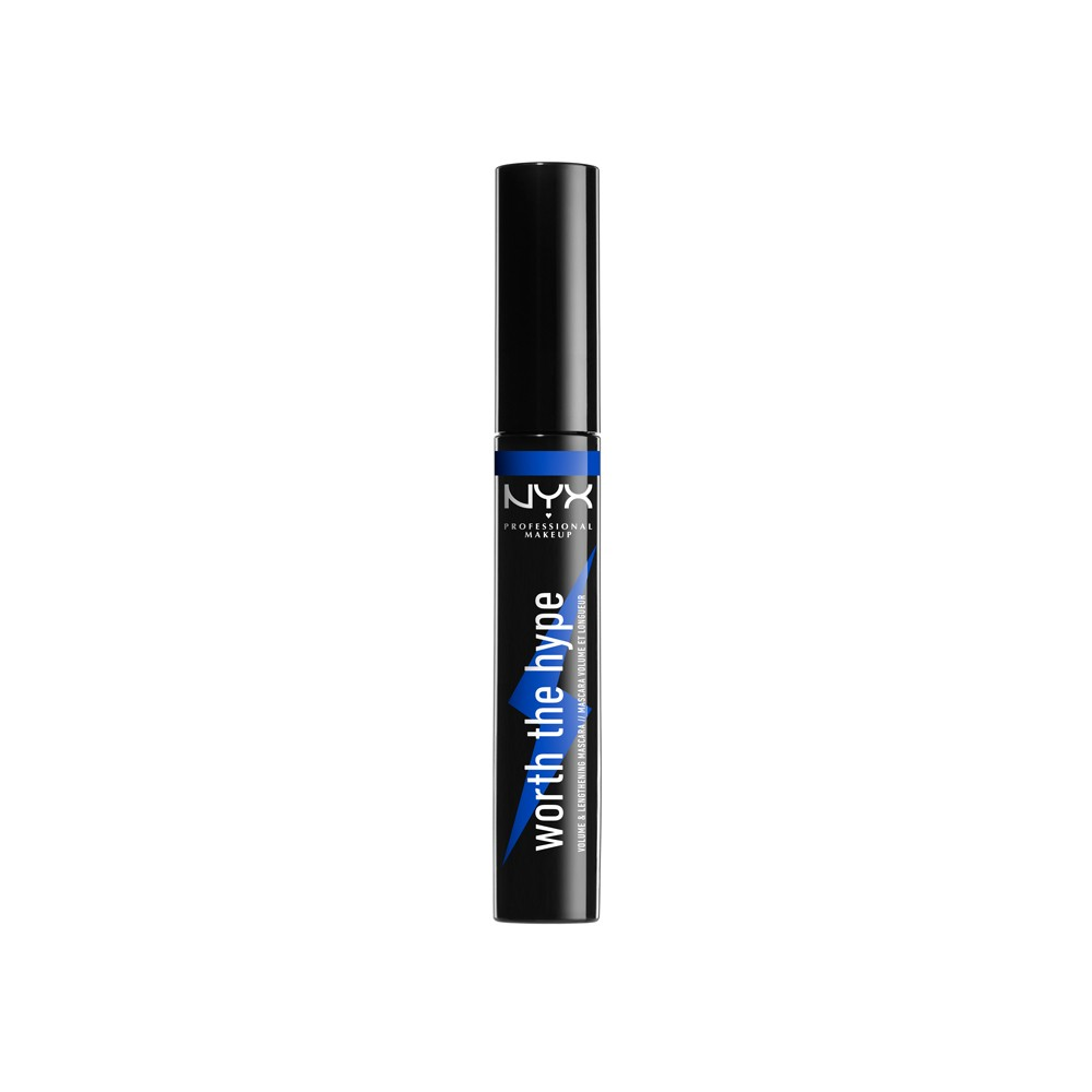 Nyx Professional Makeup Worth The Hype Mascara Blue - 0.23 fl oz