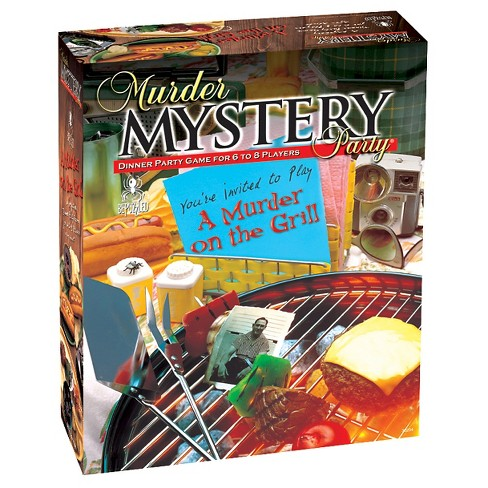 Bepuzzled Murder Mystery: A Murder on the Grill Party Game - image 1 of 1