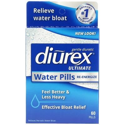 Diurex Ultimate Water Pills with Caffeine - 60ct
