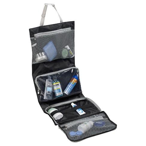 fc6a1b0de8e Lewis N. Clark® Hanging Toiletry Kit (Black)   Target