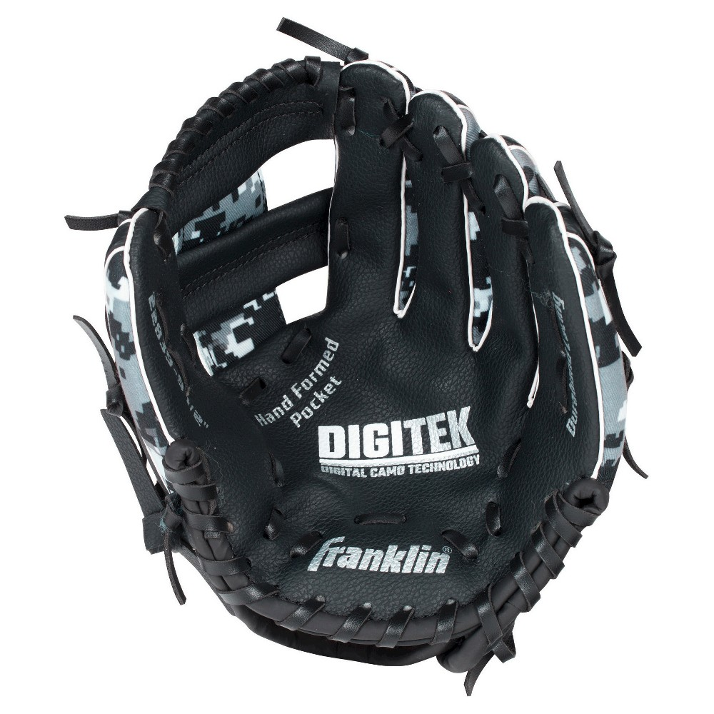 Franklin Sports Rtp Digitek T Ball 9.5 Performance Glove & Ball Set Right-Handed Thrower, Multi-Colored