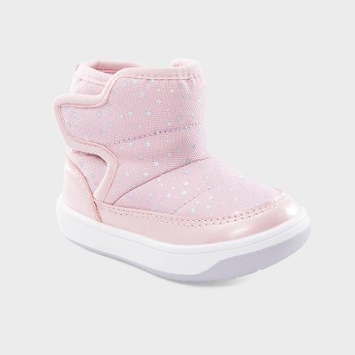 Baby Stride Rite Aster Star Boots - Pink