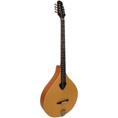 Gold Tone BZ-500 Irish Bouzouki Mandolin With Case Natural