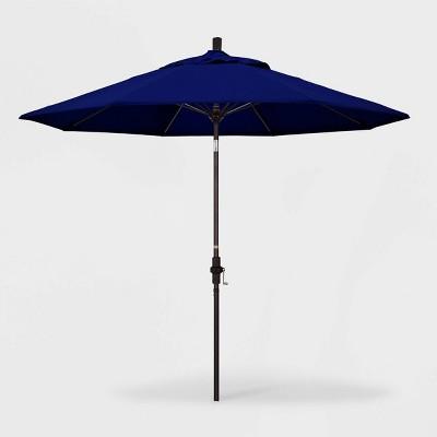 9u0027 Sun Master Patio Umbrella Collar Tilt Crank Lift ...