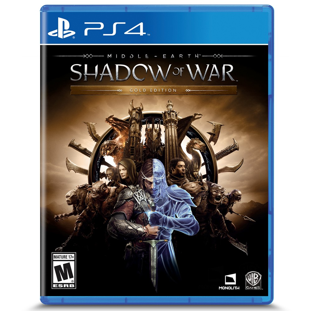 Middle Earth: Shadow of War Gold Edition PlayStation 4