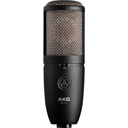 AKG P420 Large Diaphragm Dual-Capsule True Condenser Microphone with Switchable Polar Patterns, 20Hz-20kHz Frequency Response