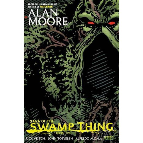 Saga of the Swamp Thing, Book Five - by  Alan Moore (Paperback) - image 1 of 1