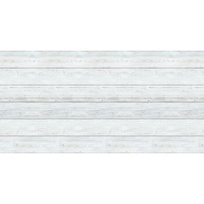 Fadeless Designs Paper Roll, White Shiplap, 48 Inches x 50 Feet