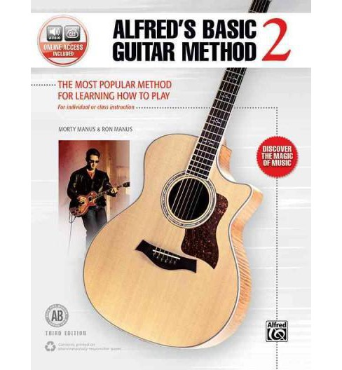 Alfred's Basic Guitar Method 2 : The Most Popular Method for Learning How to Play, Book & Online Audio - image 1 of 1