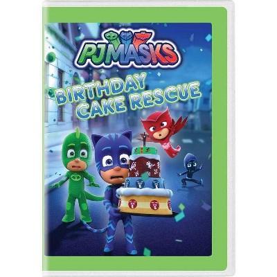 Pj Masks: Birthday Cake Rescue (DVD)