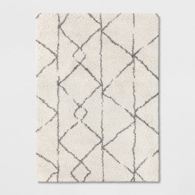 5'X7' Tribal Design Woven Area Rugs Cream - Project 62™