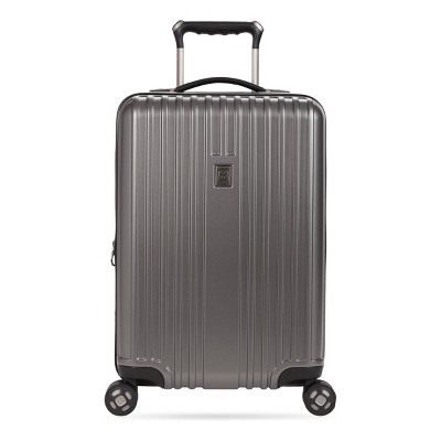 "SWISSGEAR 20"" Hardside Carry On Suitcase - Gun Metal"
