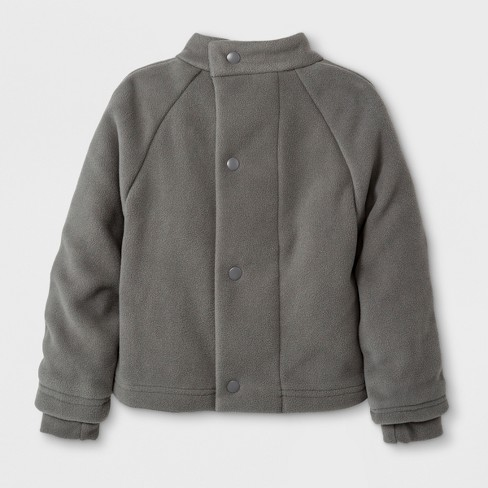 8947772d4311 Toddler Boys  Adaptive Fleece Jacket - Cat   Jack™ Gray   Target