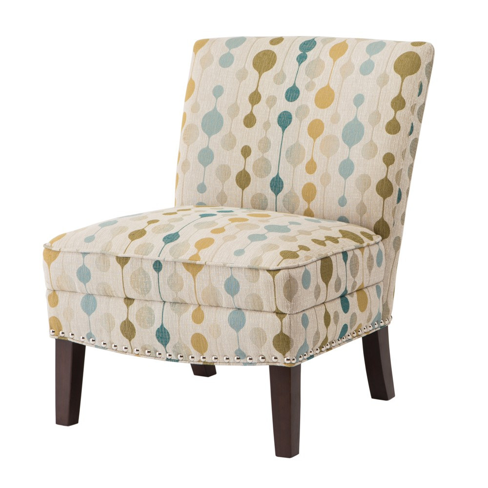 Karly Slipper Accent Chair Natural