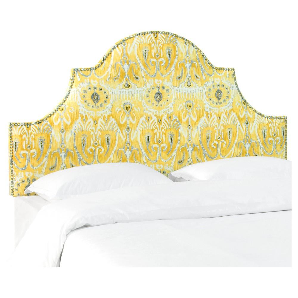 Chambers Headboard - Alessandra Lemon (Full) - Skyline Furniture