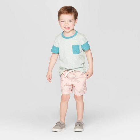 713d022d7 Toddler Boys' Animal Print Pull-On Shorts - Cat & Jack™ Pink. Shop all Cat  & Jack