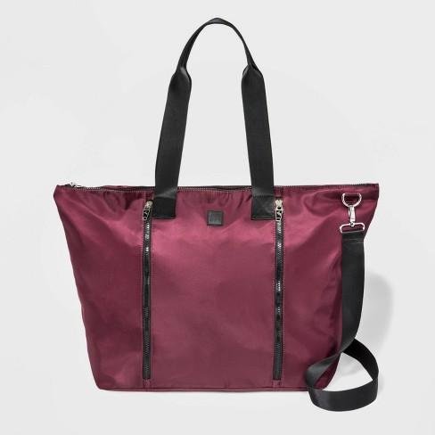 Nylon Weekender Tote Handbag Joylab