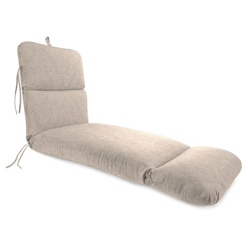 Outdoor Knife Edge Chaise Lounge Cushion In Jackson Oyster - Jordan Manufacturing - image 1 of 1