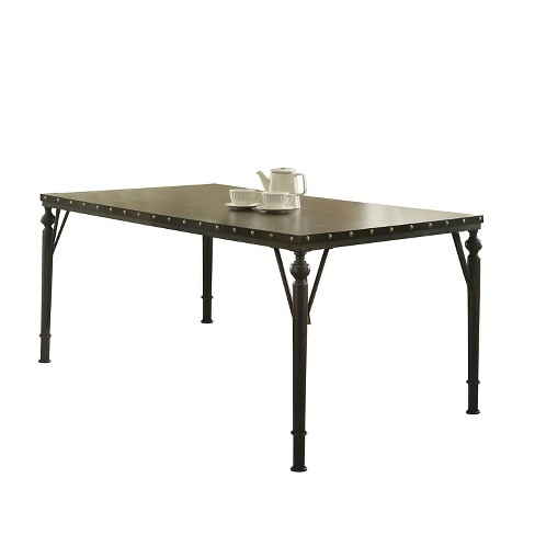 Hadas Dining Table - Walnut - Acme - image 1 of 2
