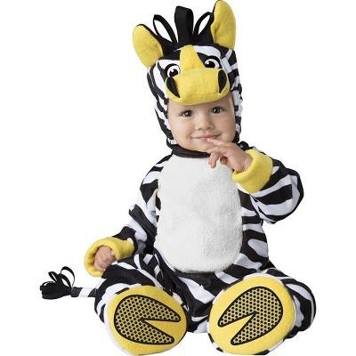 InCharacter Costumes Zany Zebra Baby Costume