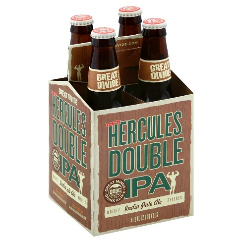 Great Divide® Hercules Double IPA - 4pk / 12oz Bottles - image 1 of 1