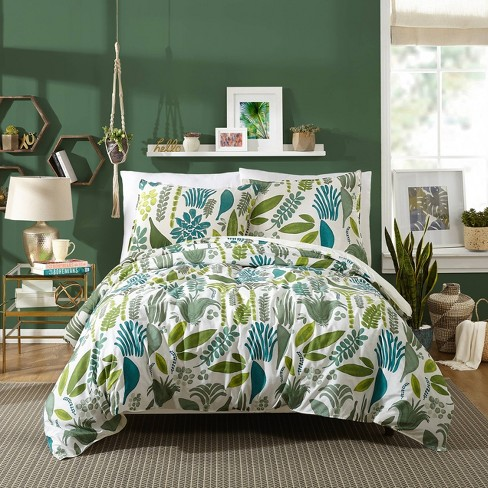 Jardin Floral Duvet Set - Makers Collective - image 1 of 4