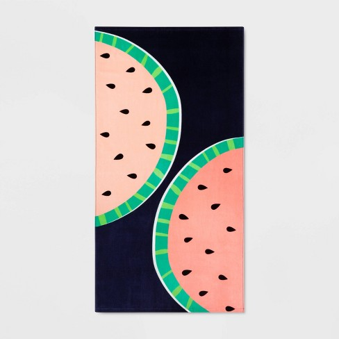 Watermelon Beach Towel - Sun Squad™ - image 1 of 2