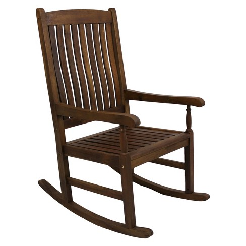 International Caravan Highland Wood High Back Patio Rocker - image 1 of 1
