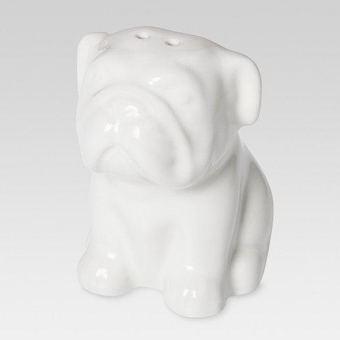 English Bulldog Stoneware Pepper Shaker - Threshold™ - image 1 of 1