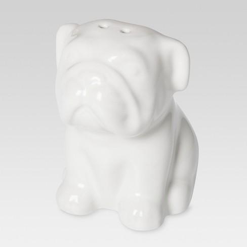 English Bulldog Stoneware Pepper Shaker - Threshold™ - image 1 of 1