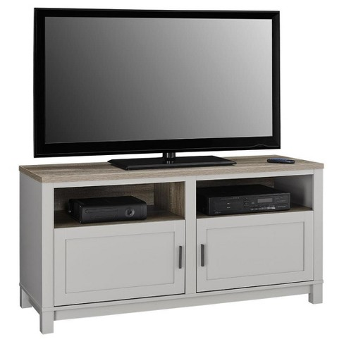 Paramount Tv Stand For Tvs Up To 60 Wide Gray Distressed Brown