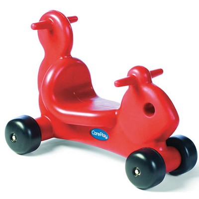 Care Play Red Squirrel Ride On