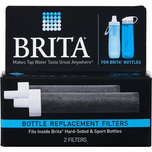 brita water filter bottle replacement filters 2pk : target