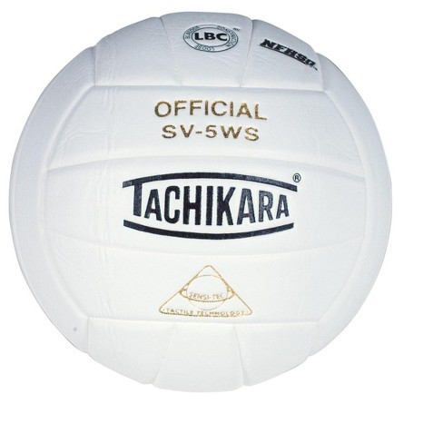 Tachikara SV-5WSC NFHS Composite Leather Volleyball, White - image 1 of 1